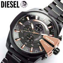 Relogio Diesel Dz4283 Mega Chief Original 10 Bar Promocional