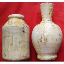 Conjunto De Vasos Decorativos - Em Cerâmica- A65