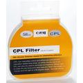 Filtro Polarizador Circular - Cpl - 58mm + Estojo