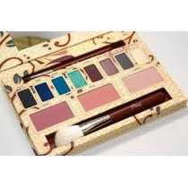 Paleta Paris Sigma Beauty, Com Pincel F40 E55 Sombra E Blush