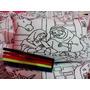 Almofada Para Colorir 30x20 Com Canetinha
