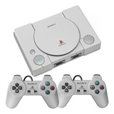 Console Playstation Classic Sony Scph1000r Ps1 Com 20 Jogos