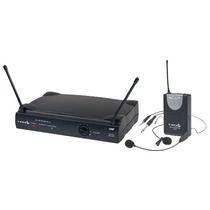 Microfone Sem Fio Cabeça Headset Uhf Lyco Uh01 Hli