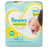 Fralda Pampers Premium Care Rn+ Pacote 20 Unidades