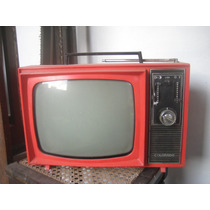 Tv- Televisor Colorado Antigo
