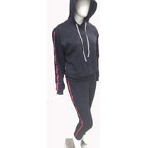 8790633520 Conjunto Moletom Feminino Moleton Gucci Capuz Listras Frio à venda ...