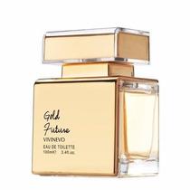 Perfume Vivinevo Gold Future Women Edt - 100ml - S/celofane