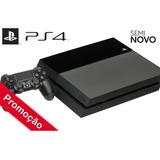 Playstation 4 500gb Ps4 + 1 Controle + 1 Jogo + Seminovo