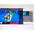 Super Mario World Original Salvando Em Caixa Réplica!!!!!!!!