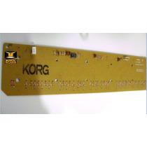 Regua Para Teclado Korg X3 Yamaha Sy55, Psr8000, Dsr2000 Etc