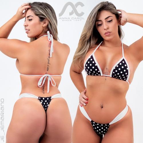 0f346be40f9f Biquíni Panicat Fio Dental Bikinis Anna Carol Cóslargo Bld-5 à venda ...
