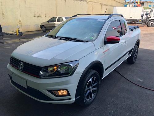 VW SAVEIRO PEPPER CE 18/19 ESTADO DE ZERO IPVA PAGO
