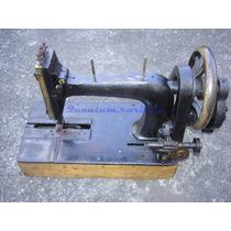 Antiga Maquina Costura Manual - P/ Restauro Faltam Pcs