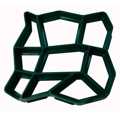 Forma Para Trilha Jardim Decorativa Easy Piso Kit Com 2