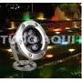 Lampada Led 6w Rgb Prova Agua Controle Remoto Piscina Spot
