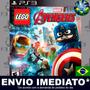 Lego Marvel's Avengers - Ps3 - Psn - Dublado - Mídia Digital