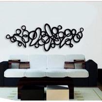 Escultura De Luxo Em Mdf Abstrata Artigo De Decoracao