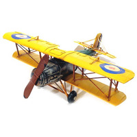 Avião Raf Amarelo Mod Cdr719 La Verne