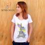Camiseta Feminina Torre Eiffel