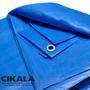 Lona 6x5 M Azul Impermeavel Multi Uso Piscina Festa Telhado