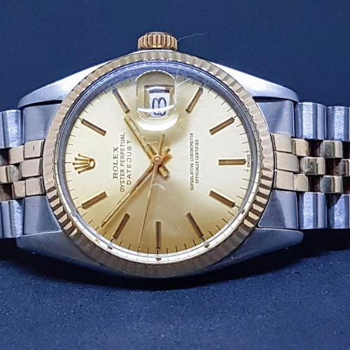 e15186689f3 Rolex Date Just 36 Mm Lindo Ref. 16013