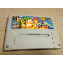 Joe & Mac: Tatakae Genshijin Nintendo Super Famicom P/coleca