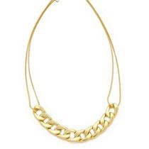 Colar Com Corrente Dourada, Delicado Lindo E Resistente #039