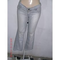 Linda Calça Jeans C/ Elastano- Carmim Nº 42