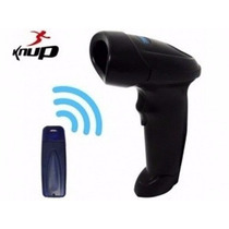 Leitor Scanner De Código Barra Laser Sem Fio Wireless Usb