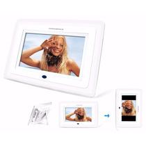 Porta Retrato Digital 7 Powerpack Dpf-610.wh Promoção !!!