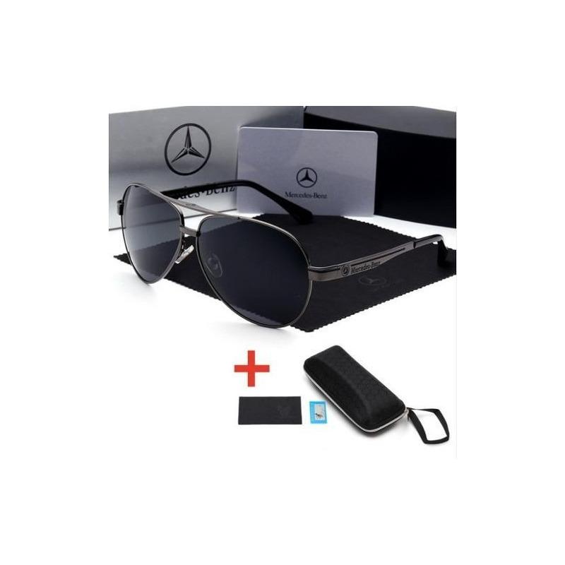 Óculos De Sol Mercedes Benz Metal Polarizado Uv400 Luxo em Congonhas ... 1ce9432c76