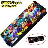 Fliperama Multijogos Arcade - 12 Mil Jogos + Canais De Tv