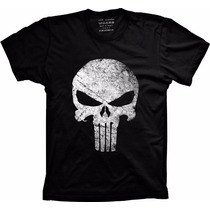 Camisetas Justiceiro The Punisher - Camisa De Caveira