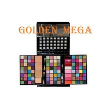 Estojo De Maquiagem Completo-com Sombras 3d