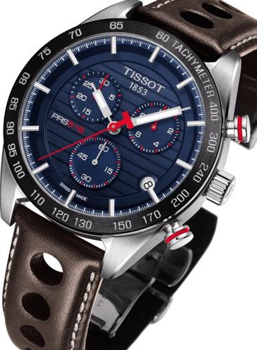 d229aa957ee Relógio Tissot Prs 516 Novo Modelo T1004171604100 Azul Marro