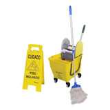 Kit 1 Limpeza Profissional Com Acessórios Amarelo Nykt01 Bra
