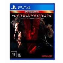 Metal Gear Solid V The Phantom Pain Ps4 Legendado