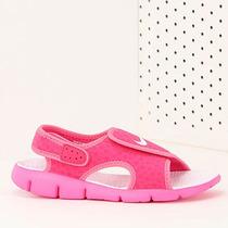 Papete Infantil Nike Sunray Adjust 4 - 27 Ao 35 - Pink
