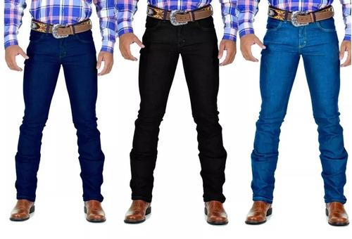 462dc0ae69 Kit 10 Calça Jeans Masculina Estilo Country Lycra Atacado
