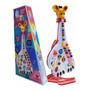 Guitarra Infantil Musical Girafa 26 Teclas Sons E 10 Músicas