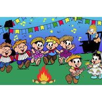 Painel Decorativo Infantil Festa Junina Julina Arraiá (mod2)