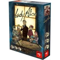 Lady Alice - Jogo De Cartas Importado Asmodee - No Brasil!