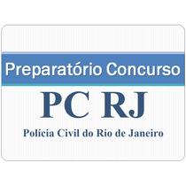 Curso Preparatório Pc Rj - Polícia Civil Rj - Papiloscopista