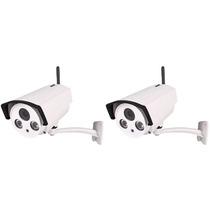 Kit 02 Câmeras Ip Wireles Hd 1.3 Mp Onvif 2.0 Plat.intelbras