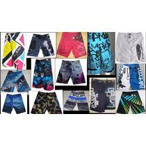 Kit 3 Shorts Tactel Maculino Surf Plus Size Extra Grande .
