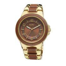 Relógio Feminino Euro Premium Eu2036aim/2x - Dourado / Pu...