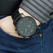 Fóssil Relógio + Nf + Brinde + 2 Anos Garantia Jr1401