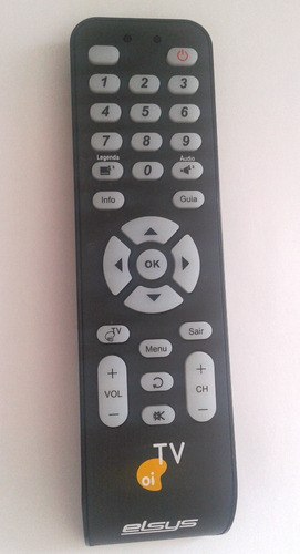 Controle Remoto Para Receptor Oi Tv Hd Ses6 Elsys Original