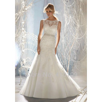 Vestido De Noiva Novo Importado A Pronta Entrega