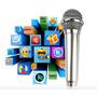 Microfone Para Celular Karaoke Bate Papo Iphone Android